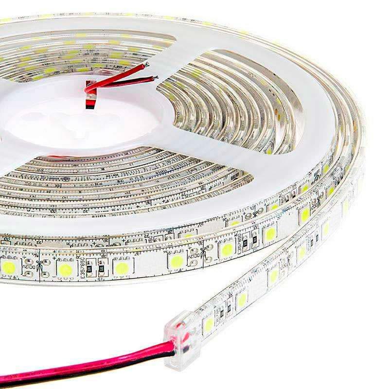 Tira LED EPISTAR SMD5050, DC24V CC, 5m (60 Led/m) - Sensor Temperatura - IP20